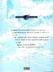 Verso de Bleu Lézard -3- Fleurs de sang