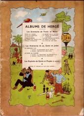 Verso de Tintin (Historique) -13B06- Les 7 boules de cristal