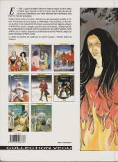 Verso de Les chemins de Malefosse -1c1996- Le diable noir
