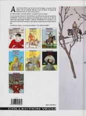 Verso de Les 7 Vies de l'Épervier -1c1995- La blanche morte