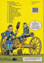 Verso de Les tuniques Bleues -19a82- Le David