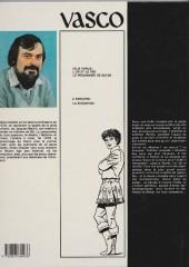 Verso de Vasco -1a1984- L'or et le fer