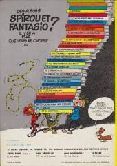 Verso de Spirou et Fantasio -12d77- Le nid des Marsupilamis