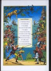 Verso de Les fils de l'aventure -5- Tome 7 et tome 8