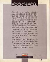 Verso de Phil Perfect -6- La légende du Rock'N'Roll