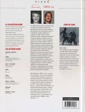 Verso de Liens de sang (Yves H./Hermann) - Liens de sang