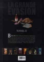 Verso de La grande évasion -6- Tunnel 57