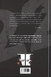 Verso de 22 -1- Une enquête explosive 1/2