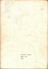 Verso de Strange -Rec019- Album N°19 (du n°56 au n°58)