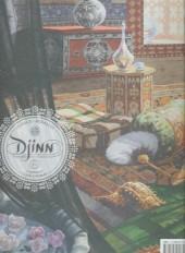 Verso de Djinn -INT1b- L'intégrale - Cycle Ottoman