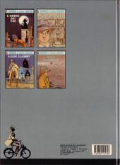 Verso de Jérôme K. Jérôme Bloche -5- Le jeu de trois