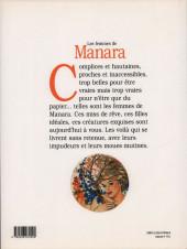 Verso de (AUT) Manara - Les femmes de Manara