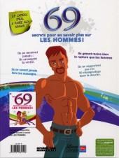 Verso de 69 secrets à savoir sur les... - 69 secrets à savoir sur les hommes !