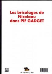 Verso de (AUT) Nicolaou - Les bricolages de Nicolaou dans Pif Gadget