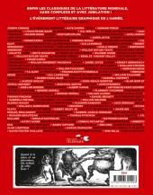 Verso de Le canon graphique -3- De L'Étranger à La Métamorphose en passant par Lolita (XXe siècle)