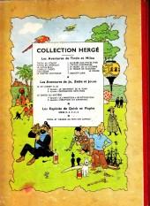 Verso de Tintin (Historique) -9B09- Le crabe aux pinces d'or