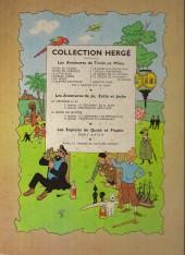Verso de Tintin (Historique) -6B11- L'oreille cassée