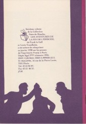 Verso de Les aventures de la fin de l'épisode - Tome 16a1998