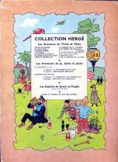 Verso de Tintin (Historique) -12B12- Le trésor de Rackham Le Rouge