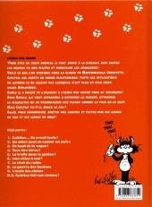 Verso de Cubitus (Les nouvelles aventures de) -9- L'école des chiens