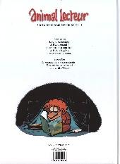 Verso de Animal lecteur -5- C'était mieux avant !