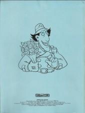 Verso de Inspecteur Gadget (1re série - Greantori) -11- Le coucou suisse...