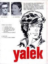 Verso de Yalek -5- Apocalypse en direct