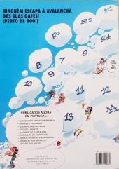 Verso de Gaston (en portugais) -12- O bando dos broncos