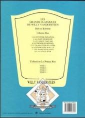 Verso de Bob et Bobette (Collection classique bleue) -2a- La Clef de Bronze