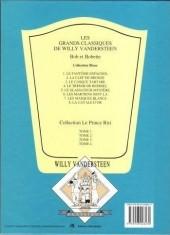 Verso de Bob et Bobette (Collection classique bleue) -5a- Le Gladiateur-Mystère