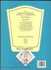 Verso de Bob et Bobette (Collection classique bleue) -8a- La Cavale d'Or