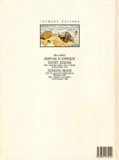 Verso de Jacques Gallard (Une aventure de) -4- Afrikaans bazaar
