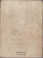 Verso de Blek (Les albums du Grand) -Rec04- Album N°4 (du n°21 au n°24)