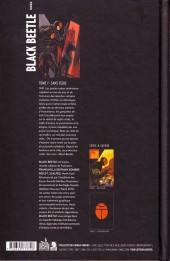 Verso de The black Beetle -1- Sans issue