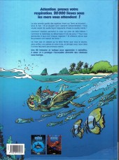 Verso de Les animaux marins en bande dessinée -2- Tome 2