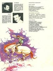 Verso de Comanche -3b1978- Les loups du Wyoming