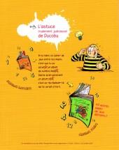 Verso de L'Élève Ducobu -Récré1- Le Récréalbum de Ducobu 1