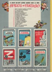 Verso de Spirou et Fantasio -12a67- Le nid des Marsupilamis