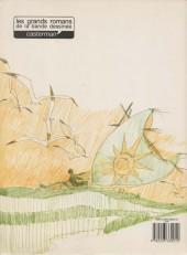 Verso de Corto Maltese -1b- La ballade de la mer salée