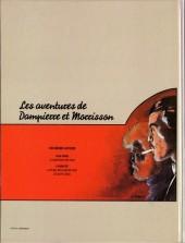 Verso de Dampierre et Morrisson (Une aventure de) -1- Le cimetière des fous