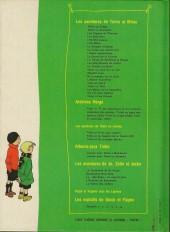 Verso de Quick et Flupke -3- (Casterman, couleurs) -REC1- Recueil 1
