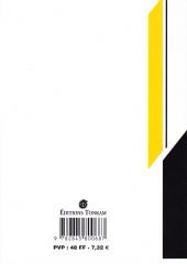 Verso de Family Compo -7- Les deux Masahiko