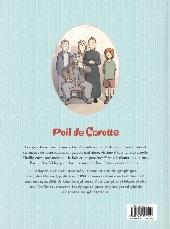 Verso de Poil de Carotte (Cécile/Lemoine) - Poil de carotte