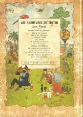 Verso de Tintin (Historique) -13B03 Zéro- Les 7 boules de cristal