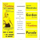 Verso de Mandrake (4e Série - Remparts) (Spécial - 2) -3- La fillette venue du futur