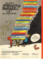 Verso de Spirou et Fantasio -7e80- Le dictateur et le champignon