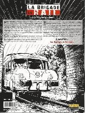 Verso de La brigade du rail -1- Le Tueur du Lyon-Genève