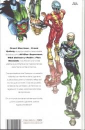Verso de Liga de la Justicia de América: Números Únicos - Jla tierra 2