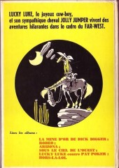 Verso de Lucky Luke -7'- L'Elixir du docteur Doxey