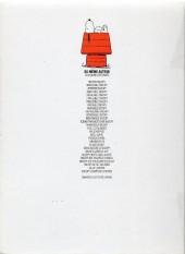 Verso de Peanuts -6- (Snoopy - Dargaud) -Esso- Prend de la hauteur